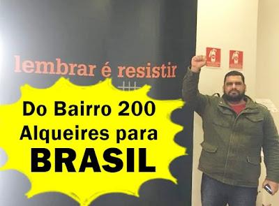 DO BAIRRO 200 ALQUEIRES EM BORRAZÓPOLIS PARA O BRASIL