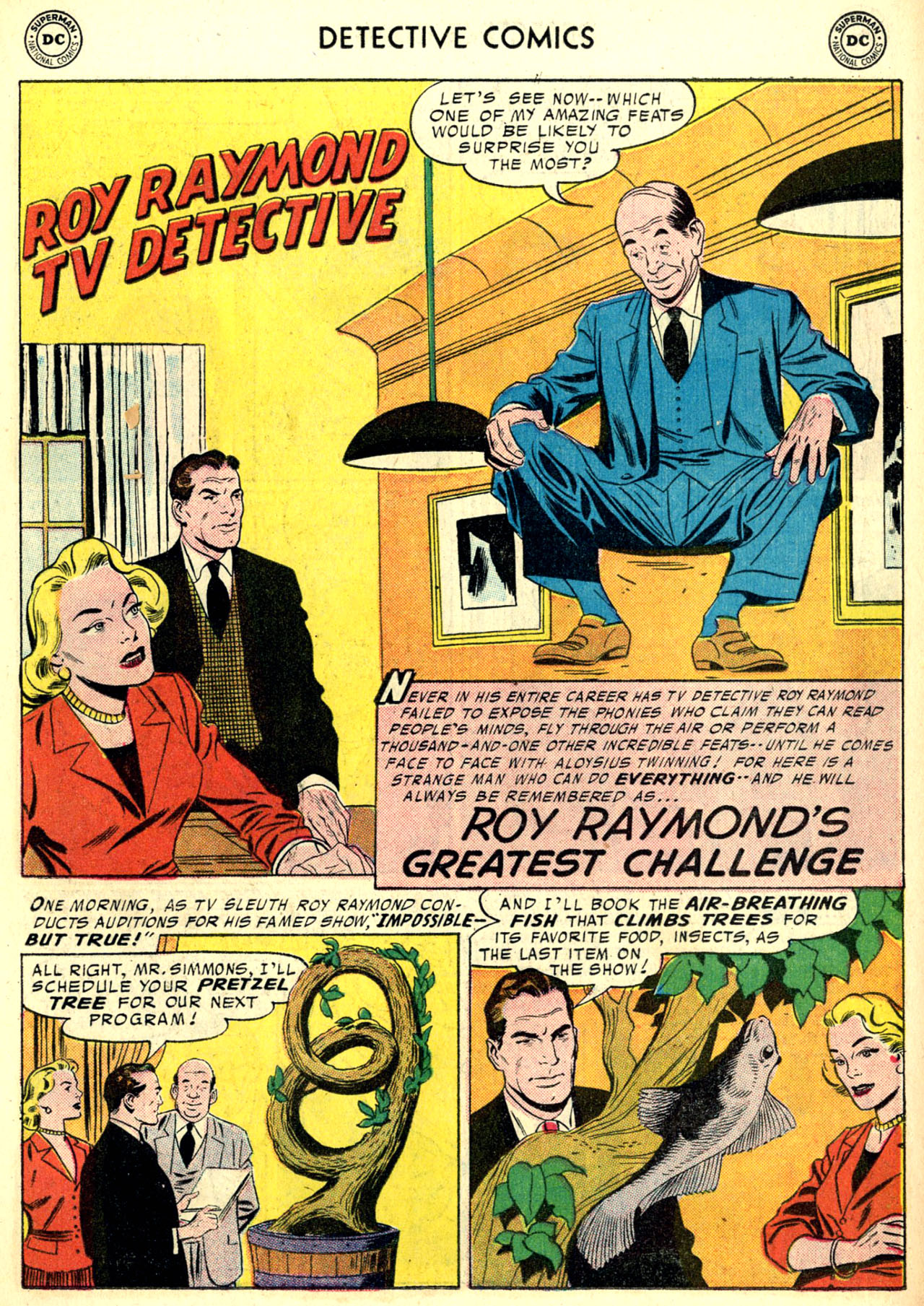 Read online Detective Comics (1937) comic -  Issue #240 - 15