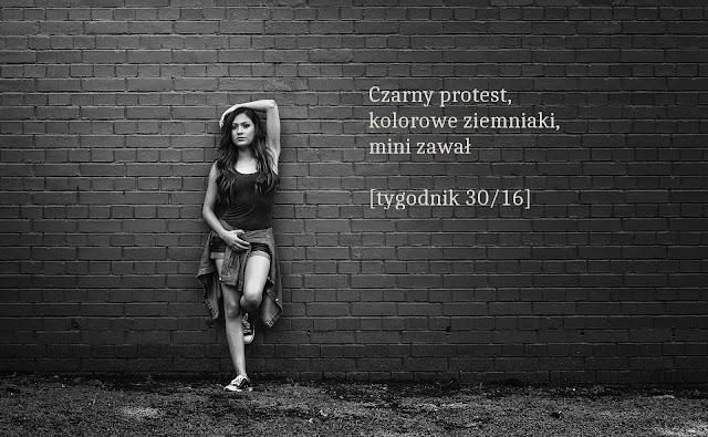 czarny protest, ratujmy kobiety, kolorowe ziemniaki, tygodnik