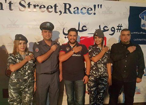حملة وعد عليي حظيت بدعم الفنان هشام الحاج