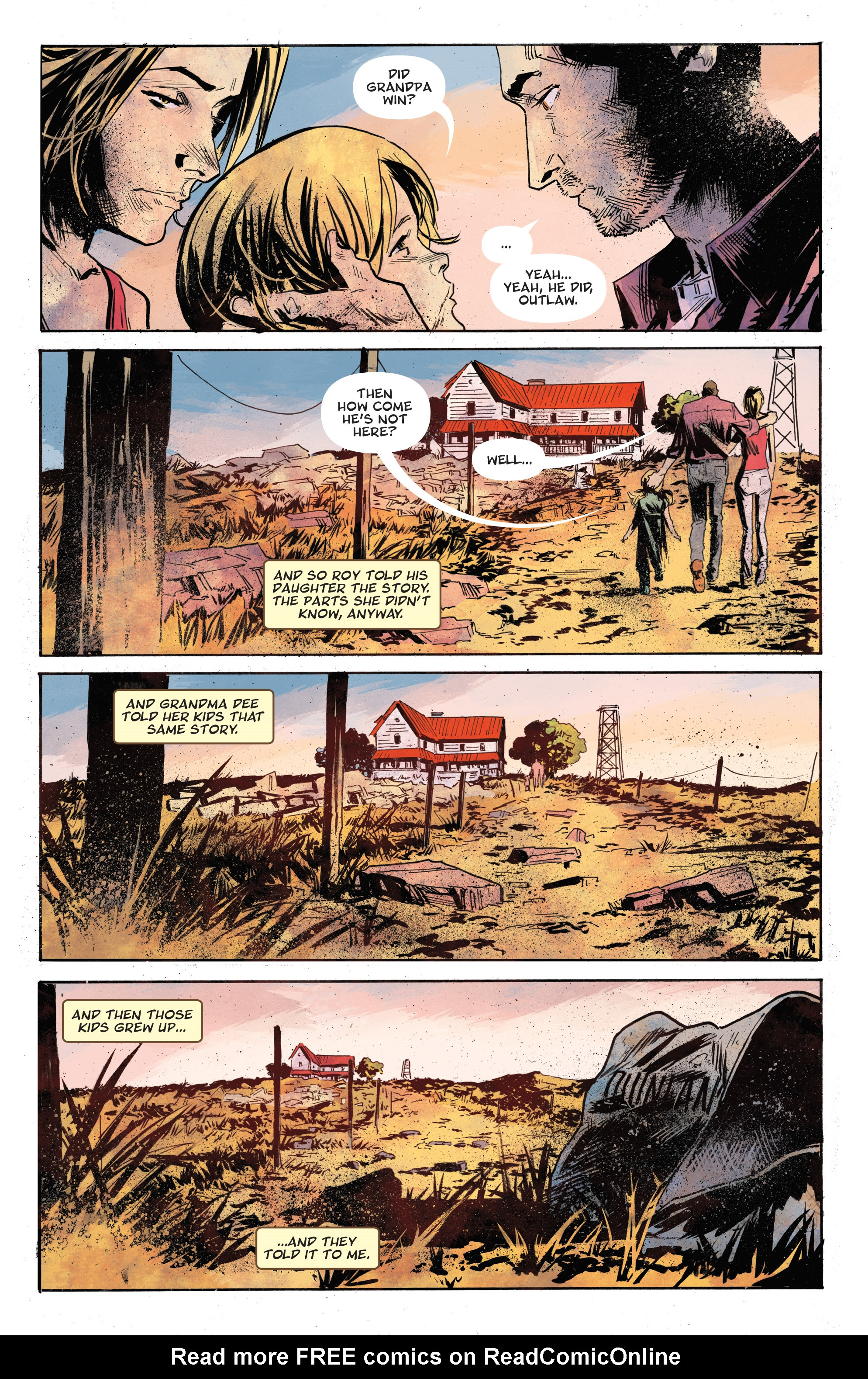 Read online God Country comic -  Issue #6 - 27