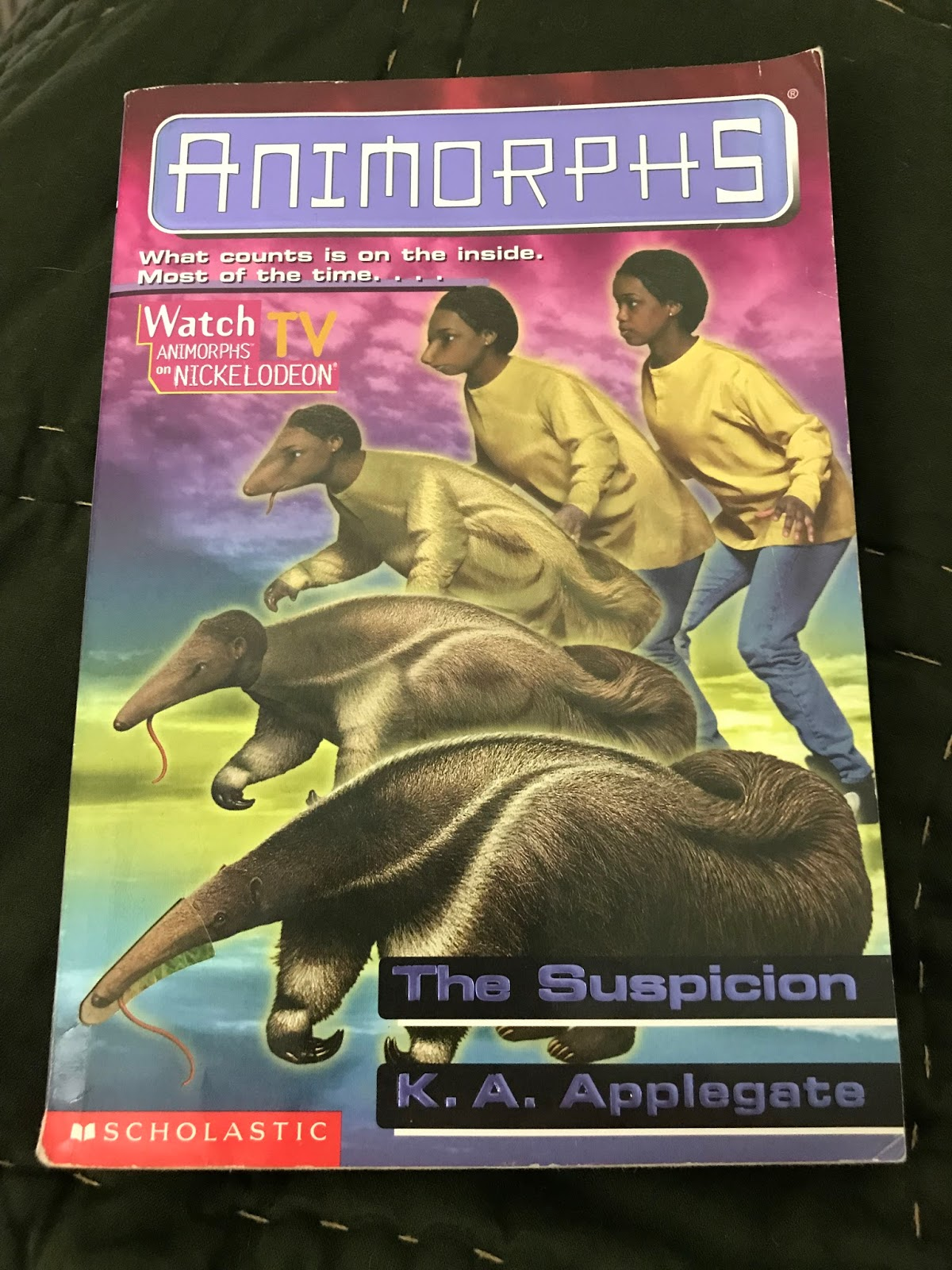 Honey I Shrunk The Animorphs Cantonaut