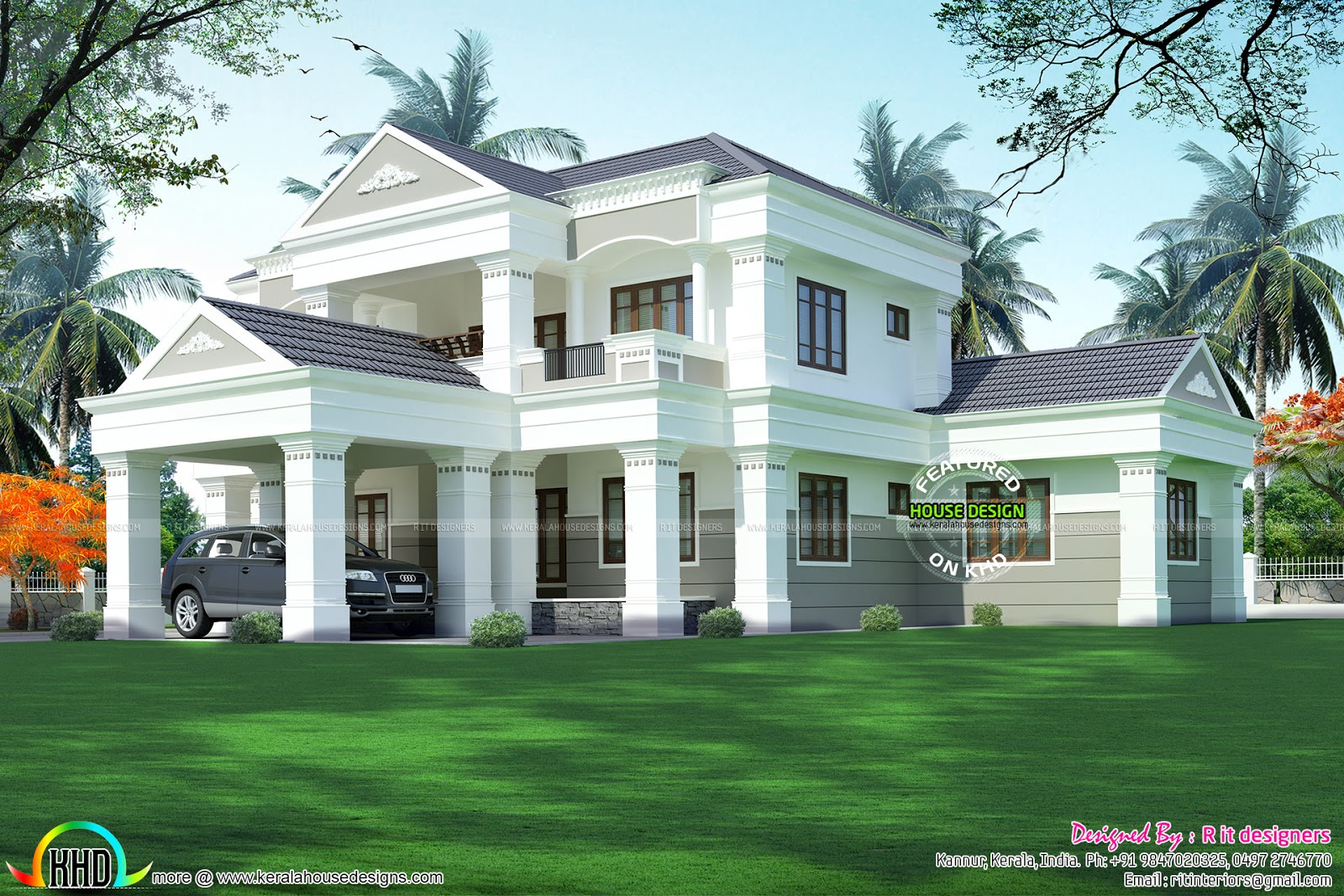 5 bhk modern house in 3119 sq ft kerala home design and for 5 bhk house