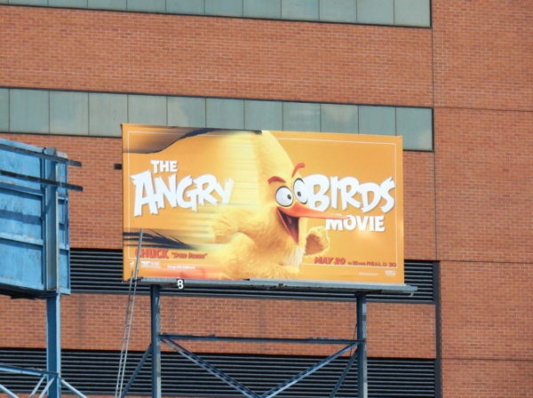 Angry Birds Movie Chuck billboard