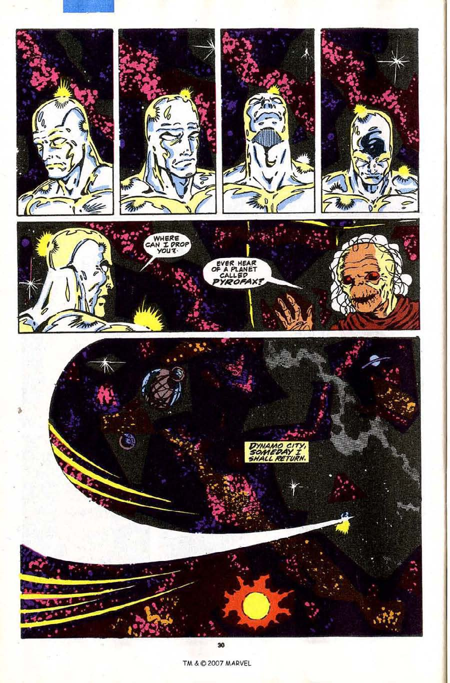 Read online Silver Surfer (1987) comic -  Issue #43 - 32
