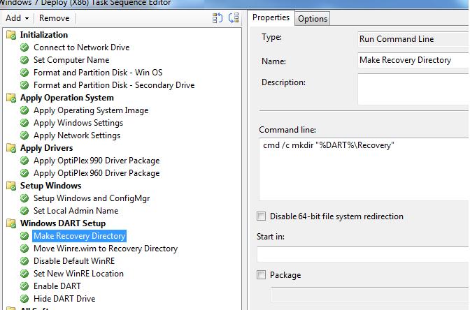 Enterprise Desktop Guidance: SCCM: Deploy Microsoft DART