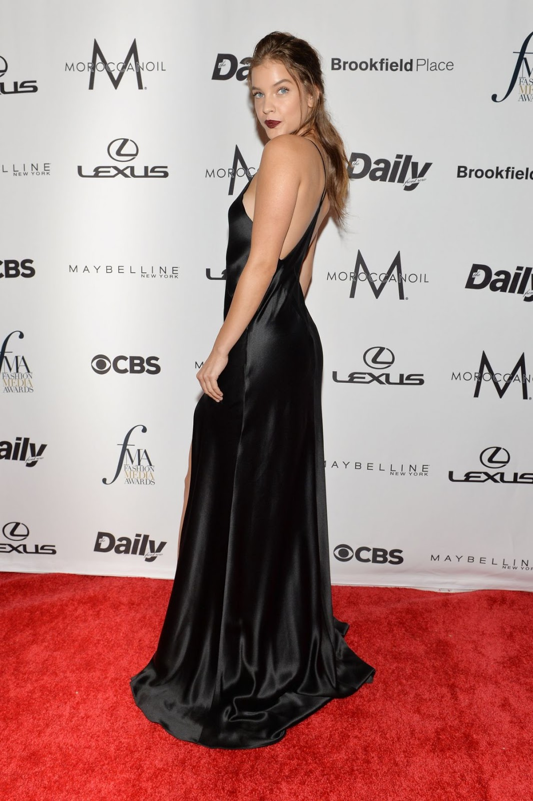 Barbara Palvin At The Daily Front Row's 4th Annual Fashion Media Awards In New York