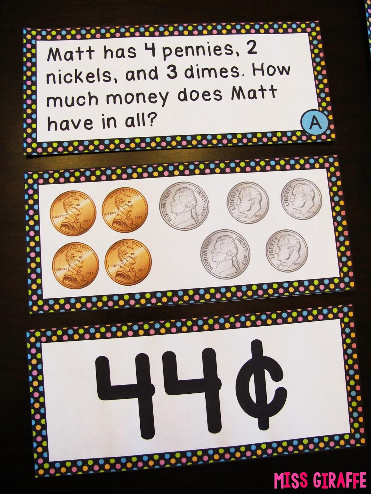 Miss Giraffe S Class Teaching Money