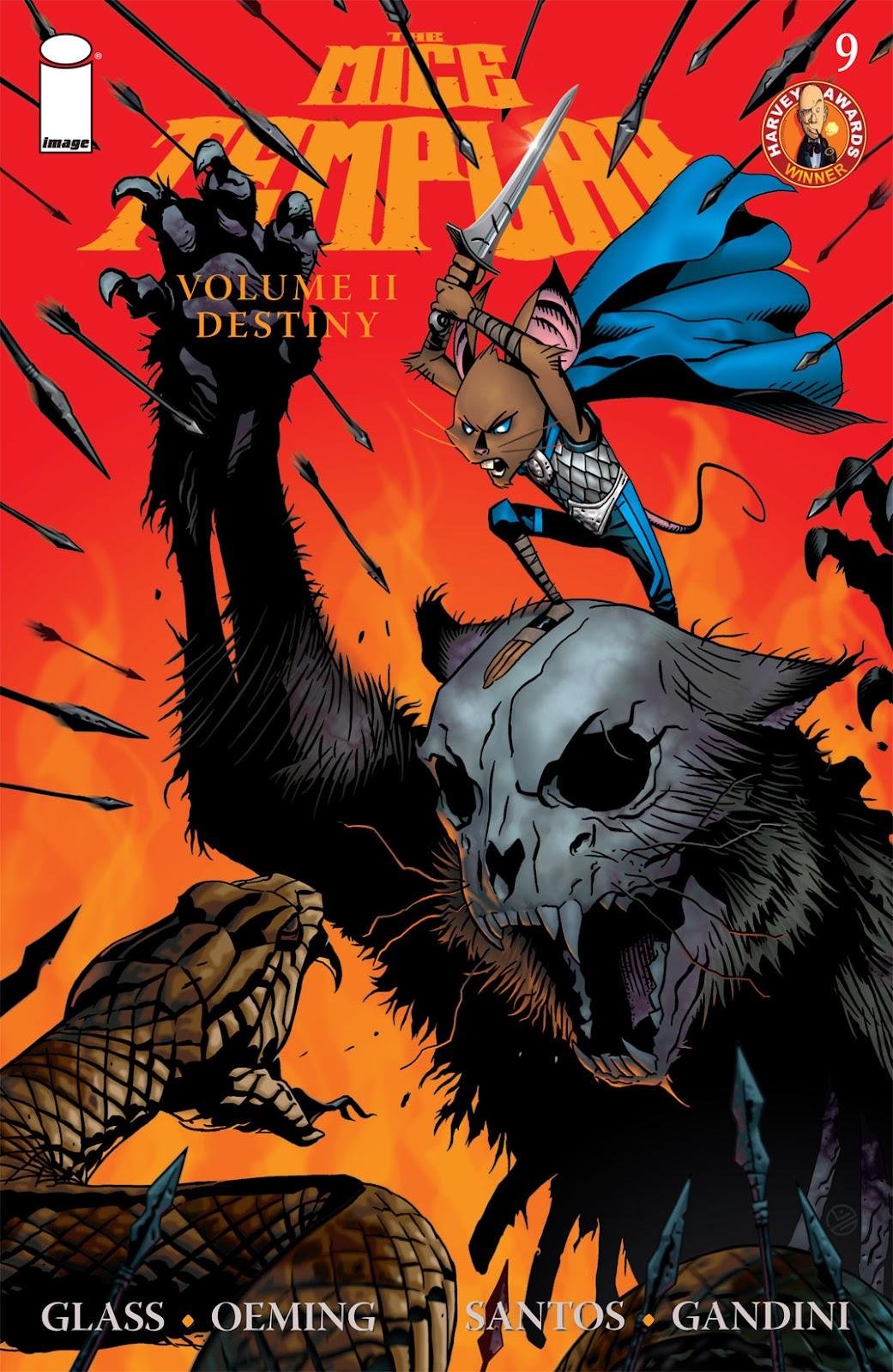 The Mice Templar Volume 2: Destiny issue 9 - Page 1