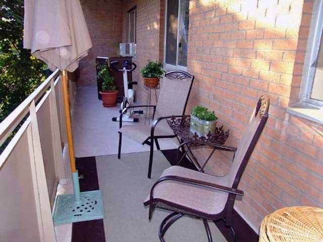 beautiful small apartment patio photo