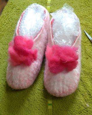 stage laine feutrée chausson factory Cathy