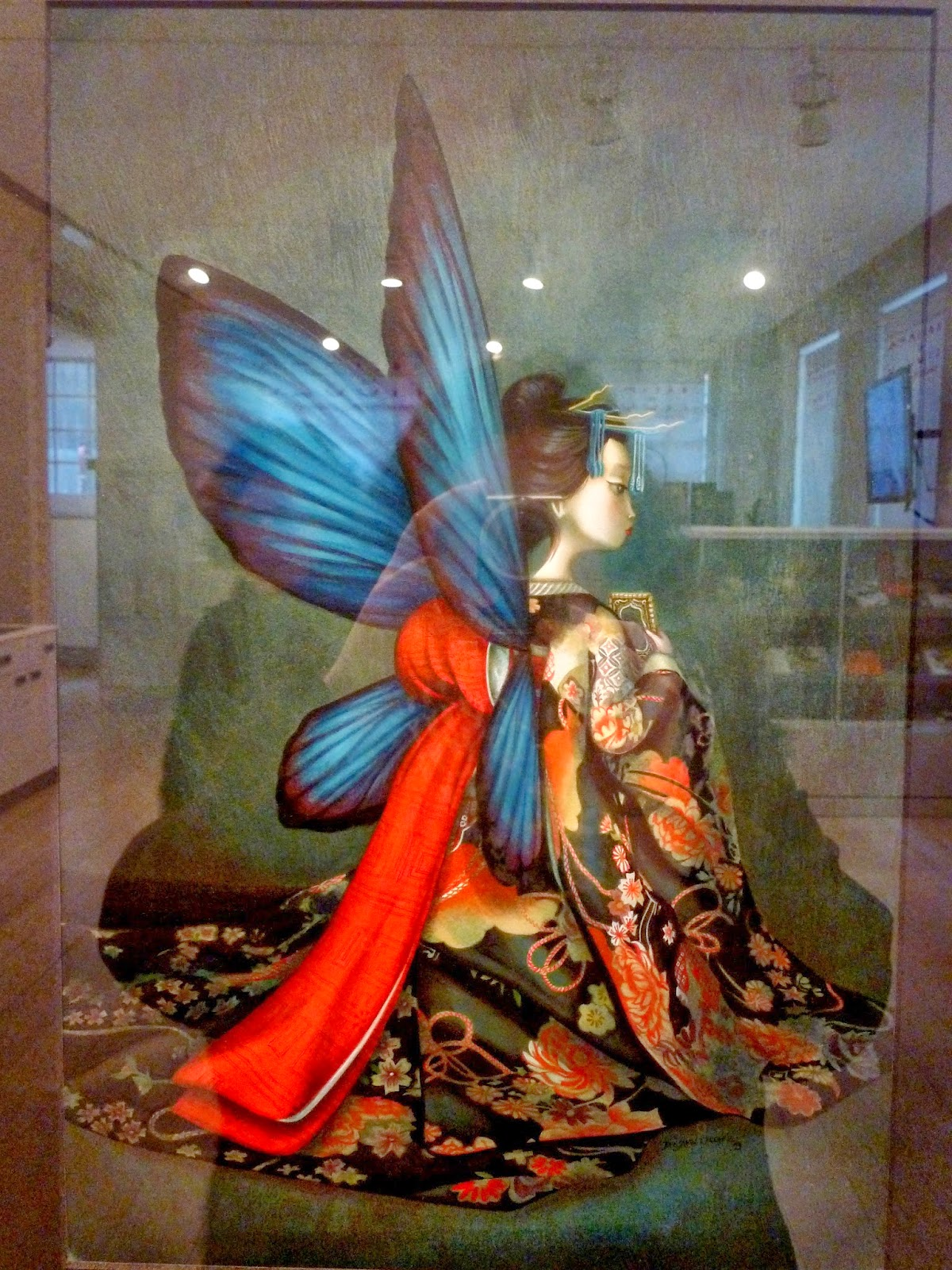Libro Madame Butterfly Walking On Air Quotel Universo De Benjamin Lacombe