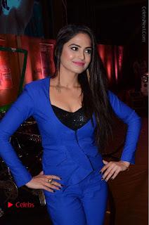 Actress Naina Ganguly Stills in Blue Dress at RGV Shiva to Vangaveeti Event  0006.JPG