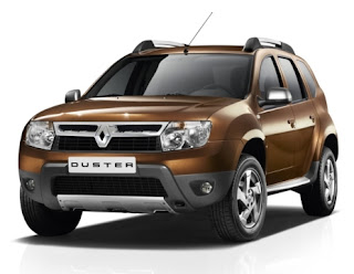 Renault Duster Front View