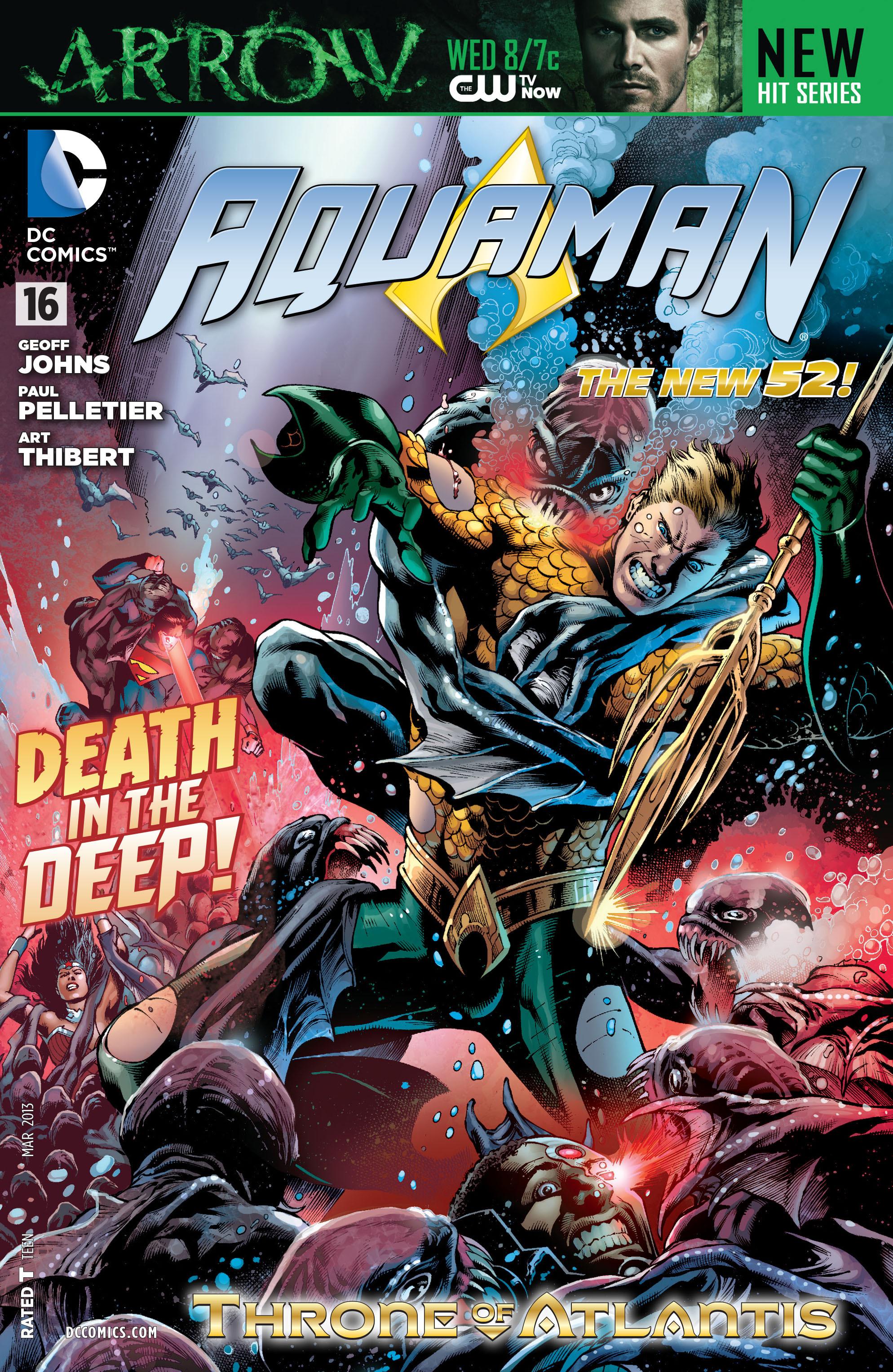 Read online Aquaman (2011) comic -  Issue #16 - 1