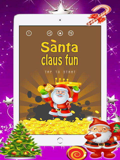 Santa Claus Happy Christmas & Merry Xmas Game for iPhone iPad iTunes