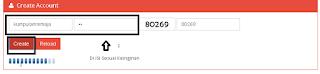 Mengisi Username dan Password Untuk Akun SSH Premium