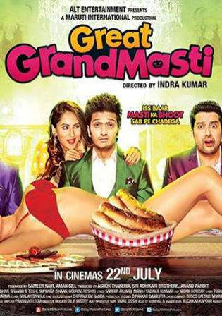 Great Grand Masti 2016 DVDRip 350MB Full Hindi Movie Download 480p Watch Online bolly4u