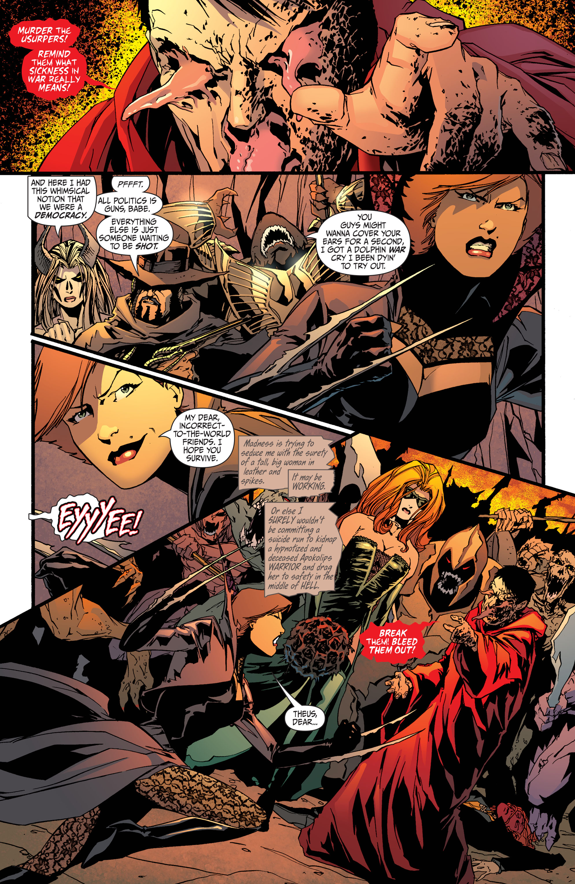 Read online Secret Six (2008) comic -  Issue #33 - 8