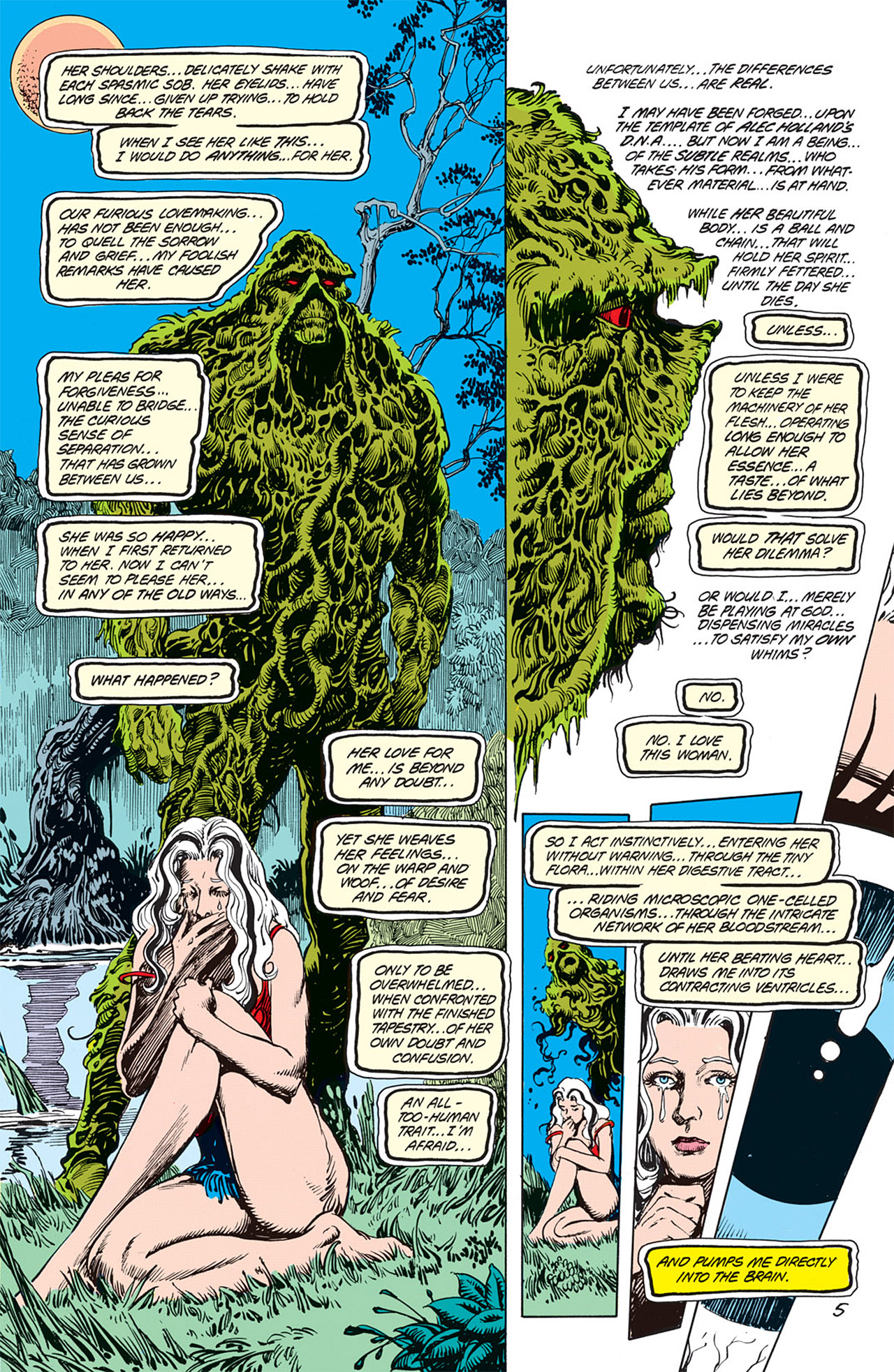 Swamp Thing (1982) Issue #66 #74 - English 5