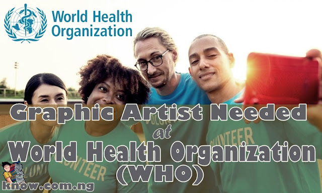 Graphic Artist Needed at World Health Organization (WHO)
