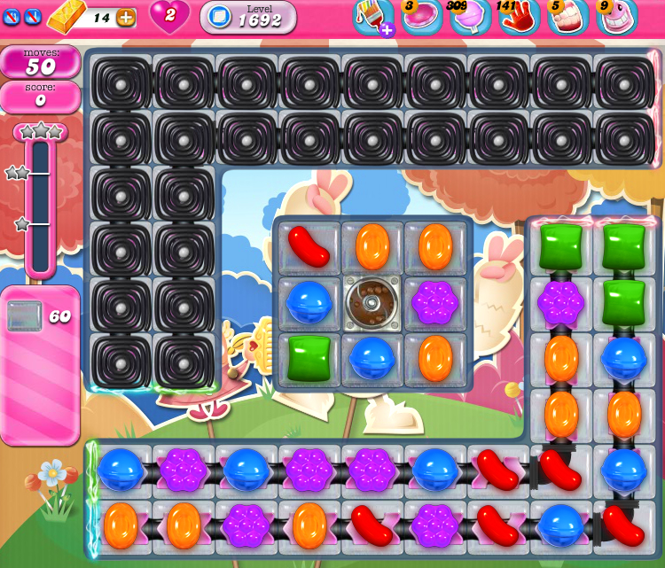 Candy Crush Saga 1692