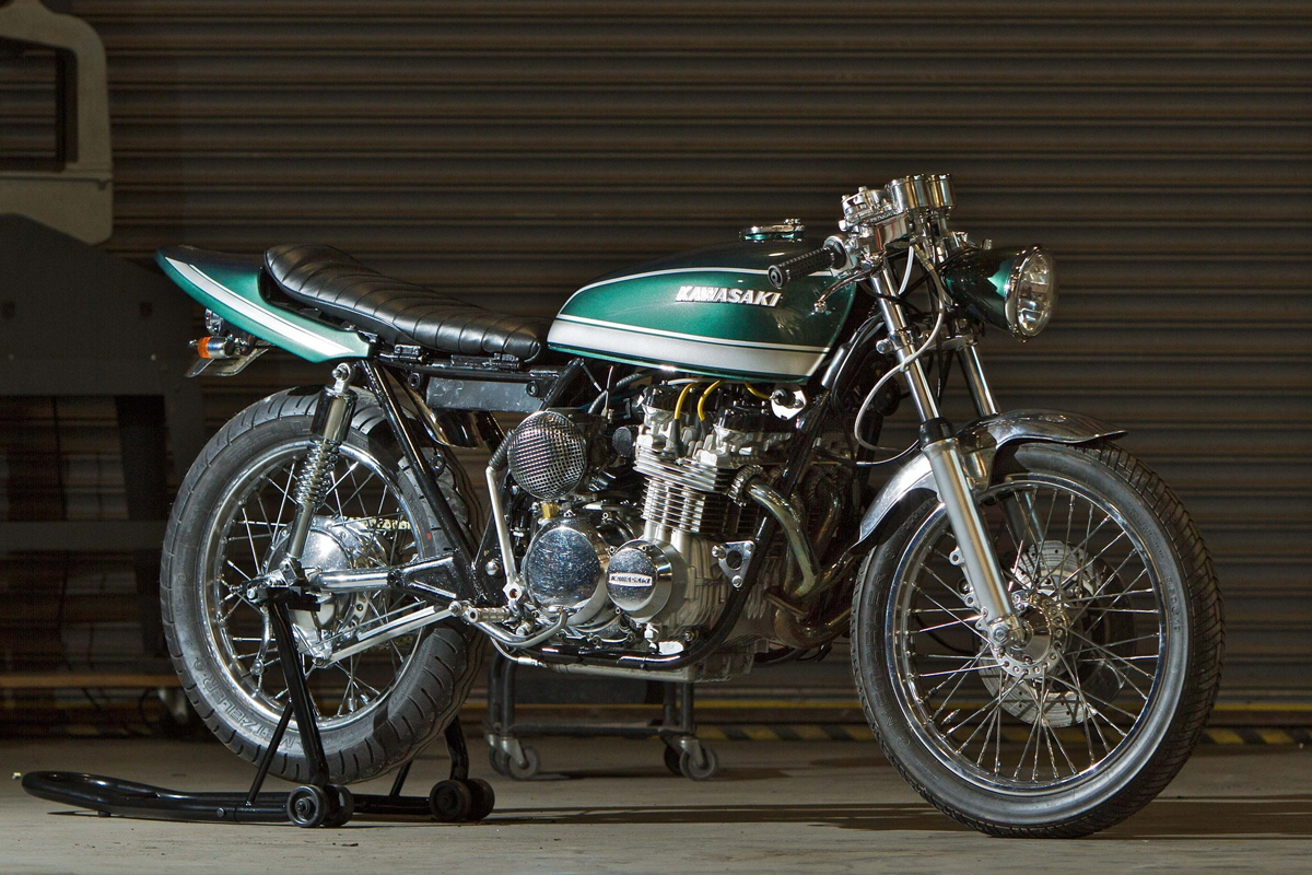 Force Fed Magnum Opus Turbo KZ650 Return of the Cafe