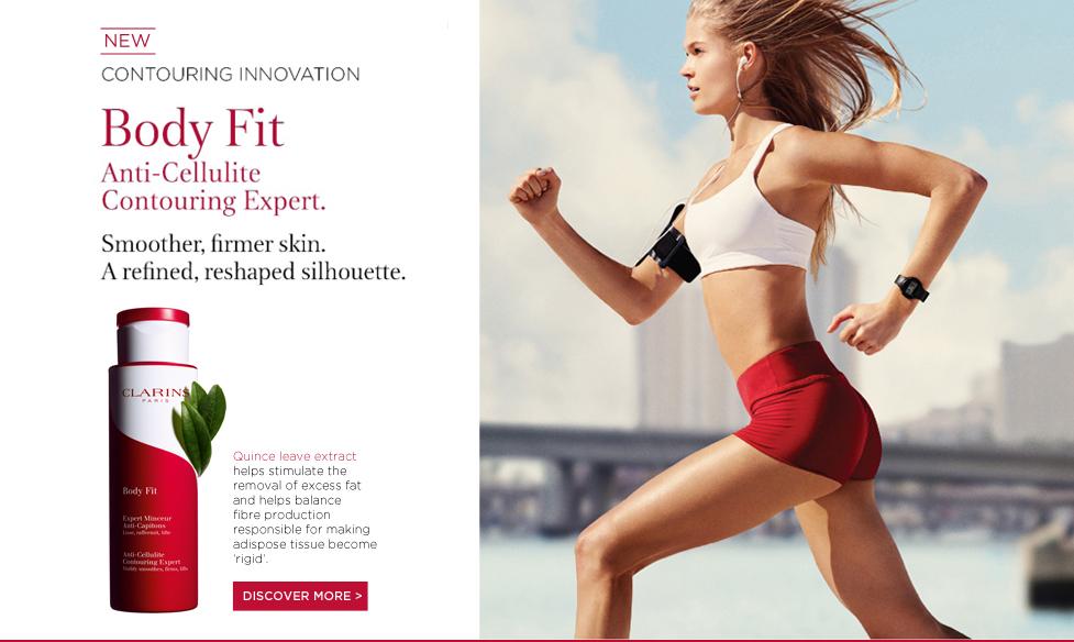 FREE Clarins Paris Body Fit 3-pc Sample Kit Redeem