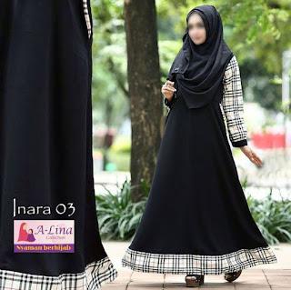 Gamis A-lina Collection Inara 03
