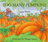 https://www.amazon.com/Too-Many-Pumpkins-Linda-White/dp/0823413209