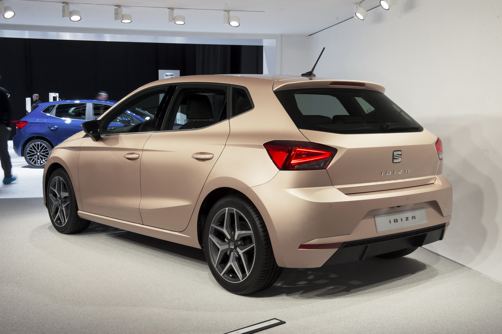 all new seat ibiza is like a scaled down leon carscoops. Black Bedroom Furniture Sets. Home Design Ideas