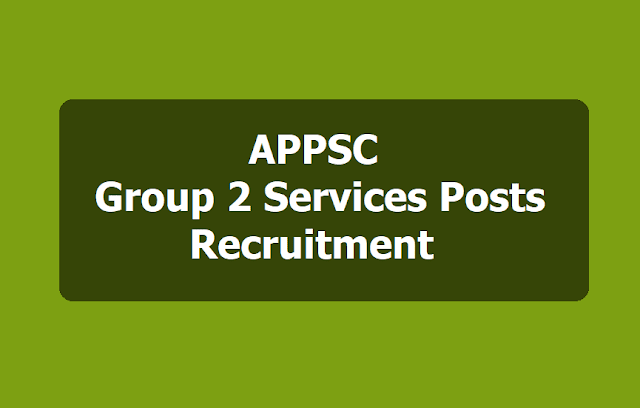 APPSC Group 2 Services posts