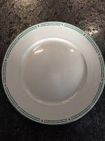 Assiette après lavage avec tablette lave vaisselle maison