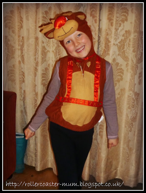 Rudolf the Red Nose Reindeer dress up