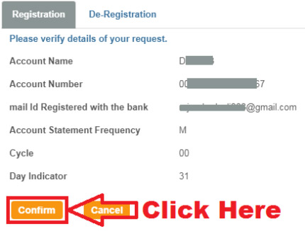 how to get e statement in sbi