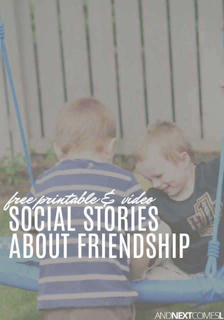 Free social stories about friends