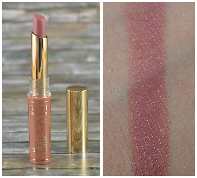 Rival de Loop The Golden 20's LE Lipstick 02 vintage pink und Swatch
