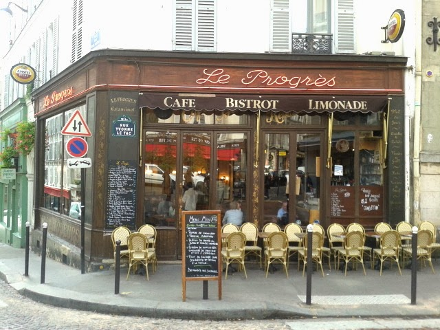 Paris cafe bistrot