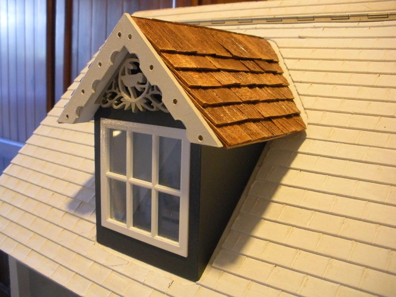 The Dollhouse Dollhouse Exterior Roof Top Dormers