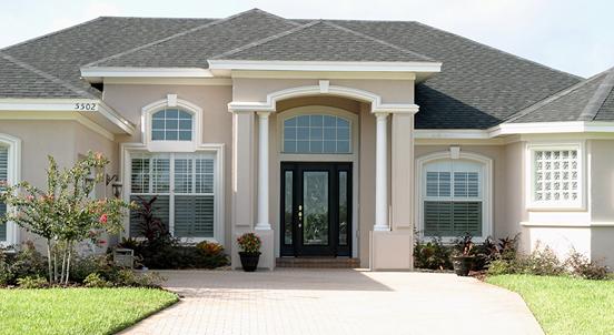 Decent Home Exterior Design 2015: Popular Exterior Paint