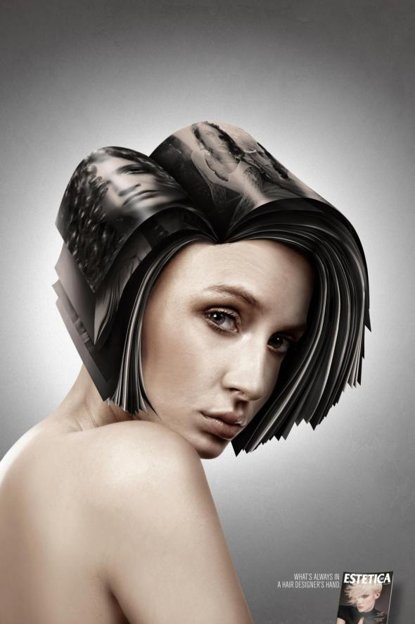 Deviant Hairstyles Print Ads Samples For Inspiration