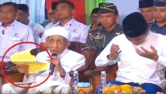 Gus Majid Kamil Bongkar Isi Kertas yang Dibacakan Mbah Moen saat Salah Sebut Nama Prabowo