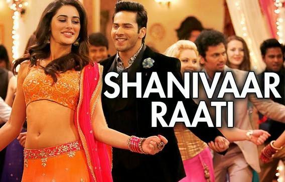 Shanivaar Raati (T-series - Judul Film: Main Tera Hero)
