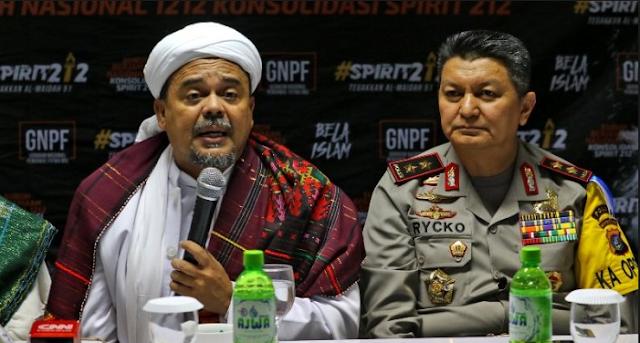 "Kapolda Sumut: Habib Rizieq Adalah ""Imam Besar Umat Muslim Indonesia"""
