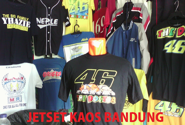 Bikin Kaos Sablon Bandung Jawa Barat