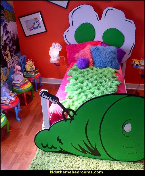 Green eggs and ham Dr Seuss theme bedroom decorating ideas  sc 1 st  Decorating theme bedrooms - Maries Manor & Decorating theme bedrooms - Maries Manor: Dr Seuss theme bedroom ...