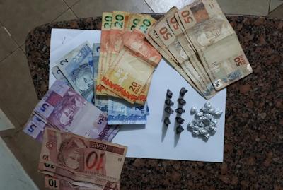 Jovem de 19 anos é preso por tráfico de drogas em Cajobi