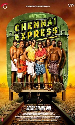 Chennai Express (2013) 400Mb Full Hindi Movie Download 480p Bluray