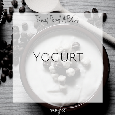 real food abcs - yogurt