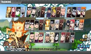 Naruto Senki Mod by Iqbal v1.17 Final Apk